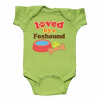 Foxhound Dog Lover Infant Creeper