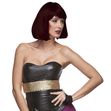 Sepia Costume Party Page Synthetic Wig 8