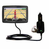 Intelligent Dual Purpose DC Vehicle and AC Home Wall Charger suitable for the TomTom VIA 1500 - Two critical functions, one unique charger - Uses Goma