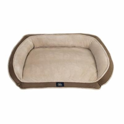 Serta Orthopedic Memory Foam Couch Pet Bed, Large, Color May Vary