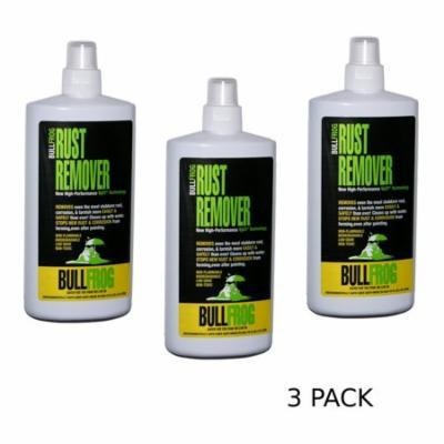 Bull Frog 94236 Rust Remover 16 oz, 3 pack