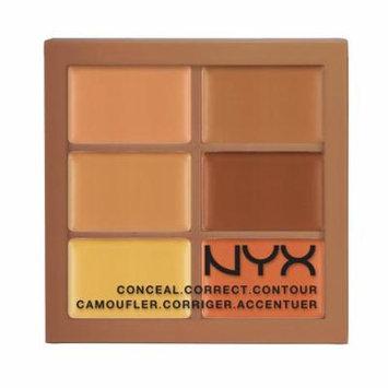 (6 Pack) NYX Conceal, Correct, Contour Palette - Deep