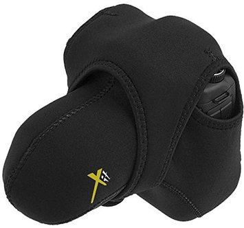 Xit Reversible Stretchy Case Wrap Bag For Sony Alpha A6300 ILCE-6300