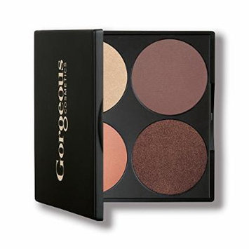 Gorgeous Cosmetics Composing Colour Brown Eyes Palette