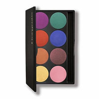 Gorgeous Cosmetics Neon Eyeshadow Palette, 8 shades, Compact with Mirror