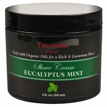 Taconic Shave EUCALYPTUS & MINT Shaving Cream with Organic Oils - 4 oz.