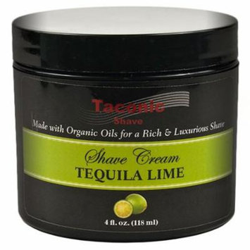 Taconic Shave LIME Shaving Cream with Organic Oils - 4 oz. - MADE IN THE USA