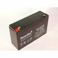PowerStar AGM612-2Pack-1 6V 12Amp Moultrie Crown Rechargeable Battery