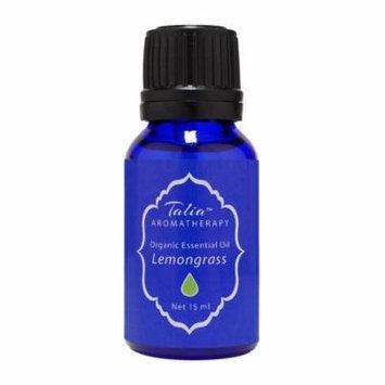 Organic Lemongrass Oil Essential Oil,Pesticide & Herbicide Free Talia Organics 15 ml Oil