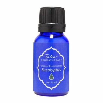 Organic Euclyptus Globulus Oil Essential Oil,Pesticide & Herbicide Free Talia Organics 15 ml Oil