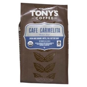 Tony's Coffee Café Carmelita Whole Bean Coffee - 12oz