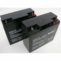 PowerStar PS12-22-2Pack9 Battery New Replaces 51814 6fm17 6-dzm-20 6-fm-18 lcx1220p, Pack - 2