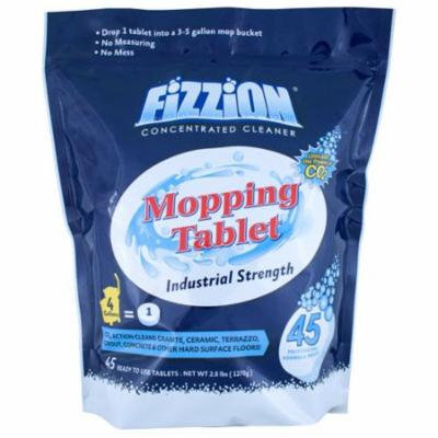 Drop & Mop Floor Cleaner 45 Tablets per Pail 'Fizzion Drop and Mop'