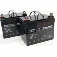 PowerStar AGM1235-2Pack-18 12V 35AH SLA Battery For Pride Dynamo & Jazzy & Jet 3 & Jet 7, Pack - 2