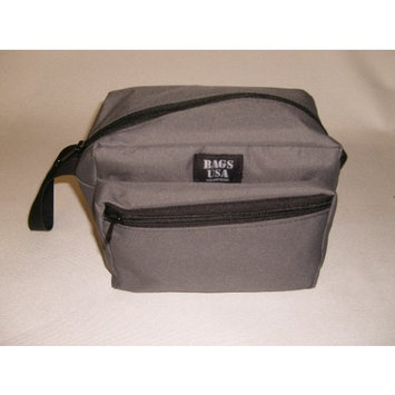 Toiletry bag,shaving bag oval shape Made in U.s.a.