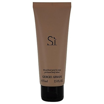 ARMANI SI by Giorgio Armani BODY LOTION 2.5 OZ for WOMEN -(Package Of 3)