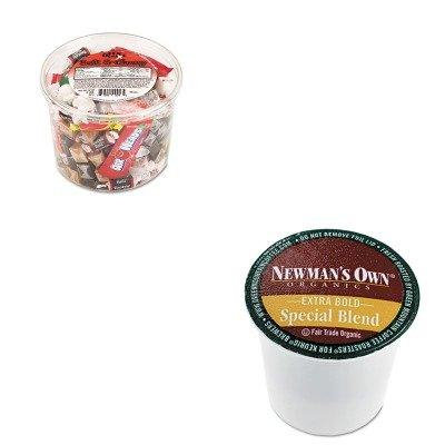 KITGMT4050OFX00013 - Value Kit - Green Mountain Coffee Roasters Newman's Own Special Blend Extra Bold K-Cups (GMT4050) and Office Snax Soft amp;amp; Chewy Mix (OFX00013)