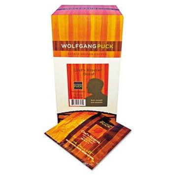 Wolfgang Puck 16432 Coffee Pods, Decaffeinated Reserve, 18/Box
