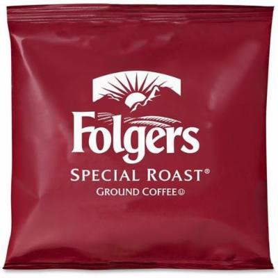 FOLGERS COFFEE 6897 Ground Coffee, Fraction Packs, Special Roast, 42/Carton