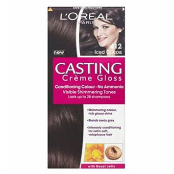 L'Oréal Casting 412 Iced Cocoa - Pack of 2