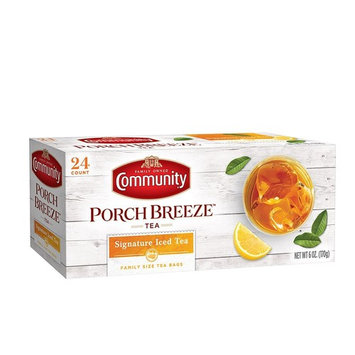 Community Coffee Iced Tea Bags, Family Size, 24 ct., (Pack of 6)