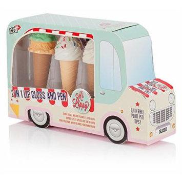 NPW-USA Ice Cream Van 2-in-1 Lip Gloss and Pen Gift Set