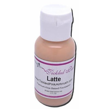 Tickled Pink Airbrush Aloe Foundation - Latte (1OZ)