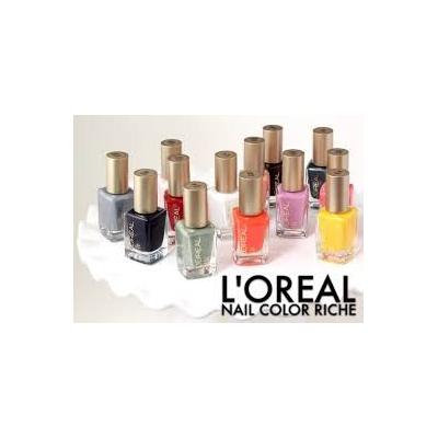 Lot of 10 L'oreal Finger Nail Polish Color Lacquer All Different Colors No Repeats