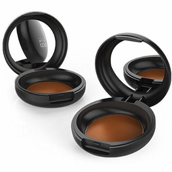 xtava Camouflage Cream Concealer with SPF 15 - Intensely Pigmented for Full Coverage - Natural Finish Formula for Flawless Results - Buildable and Blendable - Cruelty Free Makeup (Warm Mocha)