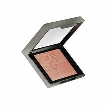 Vasanti Blush Duo Enriched with Flower Power Complex containing Lotus, Orchid and Evening Primrose - Paraben Free ( A Charmed Life (for a glowing nude flush))