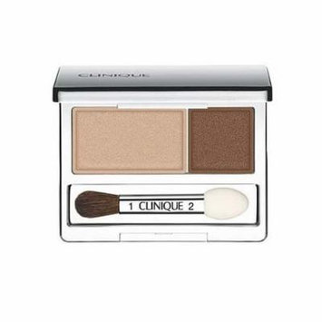 Clinique All About Crease and Fade Resistant Eye Shadow Duo - 0.07 Oz (Like Mink)