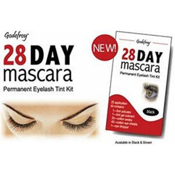 Godefroy 28 Day Mascara Permanent Eyelash Tint Kit_Black **BCS_BW**
