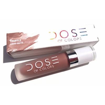 Dose of Colors Liquid Matte Lipstick - Truffle
