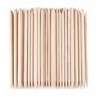Beauty7 1000 Pcs Nail Art Orange Wood Sticks Cuticle Pusher Remover Manicure Pedicure Tool (1000 Pcs)