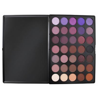 Morphe Pro 35 Color Eyeshadow Makeup Palette Plum Palette 35P - Professional matte eyeshadow palette with intense pigment