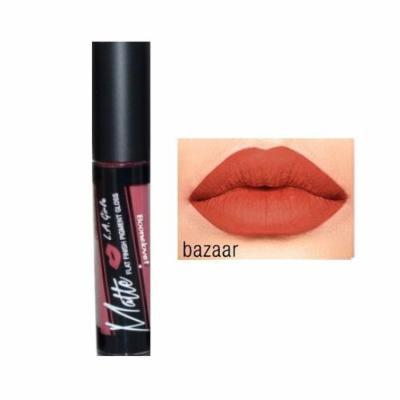 (6 Pack) L.A. GIRL Matte Pigment Gloss - Bazaar