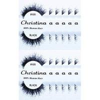Christina 12 Packs False Eyelashes Style 605