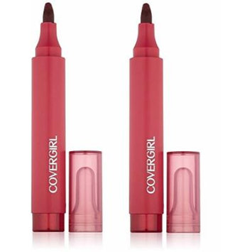 CoverGirl Outlast Lip Stain, 425, Plum Pout, 2 Pack