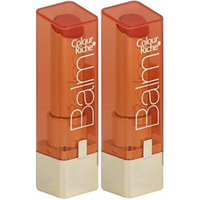 LOREAL Colour Riche Lip Balm CARING CORAL #418 (PACK OF 2 SEALED TUBES)