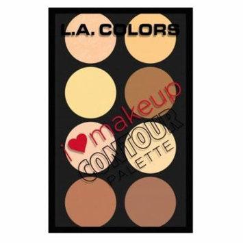 (6 Pack) L. A. COLORS I Heart Makeup Contour Palette - Light To Medium
