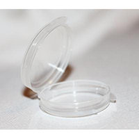 100 0.05 oz Clear Plastic Sample Containers - Can Be Used for Makeup, Jewelry and Much More!
