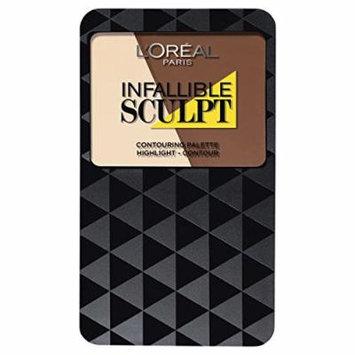 L'Oreal Paris Infallible Sculpt Contour Palette Medium/Dark 10g