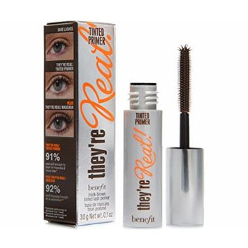 Benefit they're Real Tinted Lash Primer Deluxe Travel Size .1 Ounce Unboxed