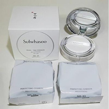 Sulwhasoo Perfecting Cushion Brightening Deluxe SPF50+/PA+++ 15g X3ea (No.23 Medium Beige)