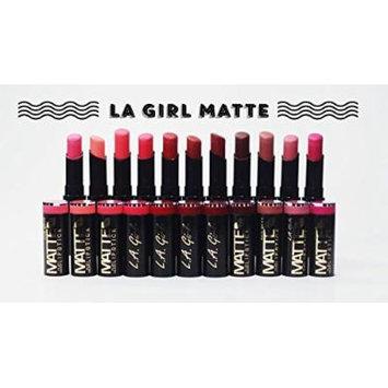 La Girl Matte Flat Velvet Lipstick Selection (One Pack, ARM CANDY)