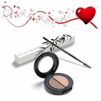 HIGHEST RATED EYEBROW MAKEUP KIT for Beautiful Women with Dual Brush, Multi-shade Brow Color & Finish Wax Kit for All Eyebrows, Create Naturally Gorgeous Brows in Minutes!