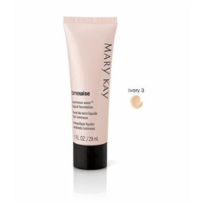 Mary Kay TimeWise Luminous-Wear Liquid Foundation for Normal/Dry Skin (Ivory 3)