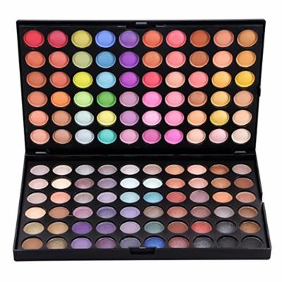 FantasyDay Pro Makeup Gift Set 120 Colors Matte and Shimmer Glittering Eyeshadow Palette Makeup Palette Cosmetic Contouring Kit #3 - Ideal for Professional and Daily Use