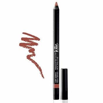 Jolie Cosmetics Waterproof Gel Lip Liner - Super Smooth, Extra Long-Wear (Lady Godiva)