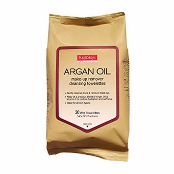 Argan Oil Make-Up Remover Cleansing Towelettes 10 Packs, 300 Wipes